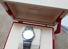 ساعة ثمينة اوميغا أصلية للبيع سنة الشراء 2017 نظيفة جدا