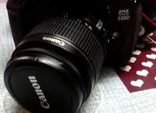 كاميرا كانون Eos 650D للبيع ف حالة ممتازة جديدة مع اغراضه