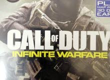 call of duty Infinite Warfare for 7 rials.
