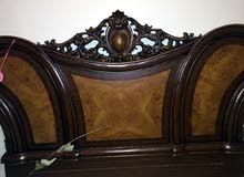 غرفة نوم للبيع تتكون من 7قطع مستعملة استعمال نظيف وفِي حالة جيدة للاستفسار الاتصال علي 0924936543