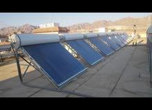 شحروري للسخانات شمسية الانابيب المفرغة من الهواء