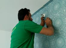 wallpaper fixing services in dubai