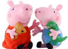 19 Cm Genuine Peppa Pig Stuffed Soft Doll George Pedro bear Dinosaur Children Pl