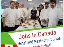 وظائف فندقيه في جميع المجالات الان في كندا