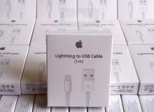 كيبل أبل 1 متر اصلي  Original Apple 1m Cable
