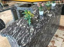 رخام نوع ارجون بلو من مجموعة الجبالي للرخام