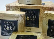 صابون Dr. Rashel بالذهب والكولاجين للحصول على بشرة شبابية وحيوية ورائعة