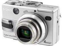 كاميرا ديجتال نوع Sony DSC-V1 5MP Digital سوني بطاريه شحن مع 1جيجا ذاكره