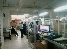 مصنع أجهزة كهربائية والكترونيات للبيع بأبو رواش