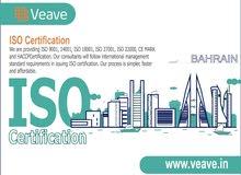 iso certification bahrain