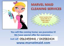 House maid for cleaning – part time