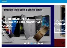موقع الكتروني للبيع