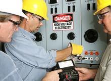 مهندس كهربائي تمديدات كهربائية منازل مصانع ورش تركيب مولدات