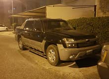 Chevrolet Avalanche 2002 For sale - Black color