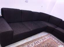 for sale sofa L shape / للبيع جلسة، قعدة شكل ل