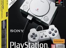 سوني بلاي ستيشن كلاسيك مع 20 لعبة PLAYSTATION CLASSIC WITH 20 PRELOADED GAMES