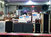 أنظمة صوتية - سماعات سقف - امبلفيرات - مايكروفونات