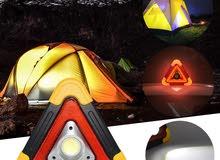 عـــــــــرض لـــــــــن يتــــكرر....كشاف مثلث الطوارئ يعمل بالطاقة الشمسية .