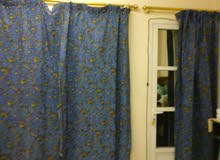 Curtains with full 4 windows set