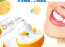 فوم  لتبيض الاسنان