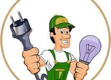 فني كهرباء منازل  اعمال كهربائية صيانة كهرباء كهرباء عامة مصراتة