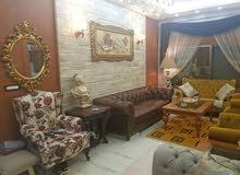 شقة 155متر في جبلة الشارع العريض طابق تاني  السعر مع الفرش 60مليون  بدون الفرش 5
