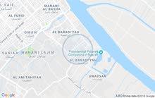 قطعة ارض 200م  سياح القصور الرئاسية السراجي خلف مركز شرطه الابراضعيه