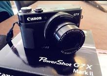 كاميرا كانون الجديدة الاحترافية  G7x مارك 2