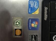 لاب توب توشيبا كور i5 رام 4 جيجا هارد 500 جيجا استخدام بسيط