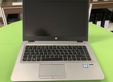HP ELITEBOOK 840 G3 الجيل السادس رمات 8 جيجا DDR4 +هارد 256 SSD(خصم خاص للكميات )