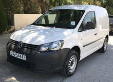 White Volkswagen Caddy 2014 for sale