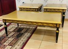 للبيع ثلاث طاولات خشبية جديدة نوعية ممتازة