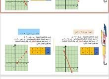 مدرس رياضيات للمرحلتين المتوسطة والثانوية