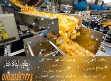 فرصة تعيين أكتر من 20 عامل إنتاج فى مصانع المواد الغذائية المختلفة
