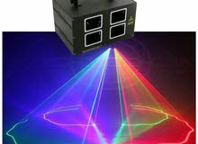 Stage Lights, Lighting Disco Lights For Party Bars, 4 Head 7 Effect Full-color