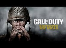 call of duty ww2 مستعمل للبيع