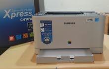 Samsung C410 ليزر  أبيض وأسود + ألوان