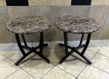 2 small tables in perfect condition for sale