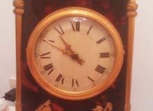 ساعة منزلية اصلية مستوردة من ايطاليا انتيكة شغالة الثمن 3200د.ل