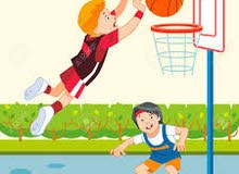 لعبة كرة السلة والرمح