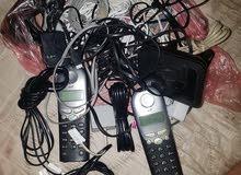 تليفونات عدد 15 مع اجهزة اخرى وكيبلات قيامة مع محولات كلهن 100الف بغداد البنوك