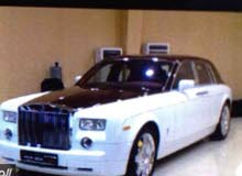 Automatic White Rolls Royce 2004 for sale