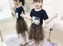 ملابس بنات الطلب