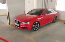 Red Audi A4 S LINE in excellent condition for sale.