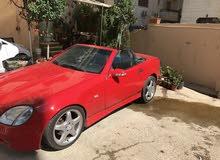 سيارة مرسيدس slk230 موديل 1997