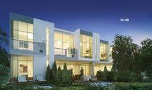 تملك فيلا 4 غرف على طابقين وحديقه مفروشه بالكامل بسعر 1600000 درهم وبالتقسيط المريح
