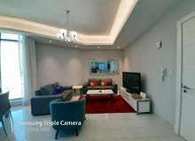 Seef-one bedroom fully furnished apartment with city view bhd:475/-