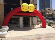 بالونات الشبح لأفتتاح المحلات