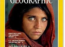 عدد ناشونال جيغرافيك  الفتاة الأفغانية