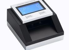 ماكينة عد النقود الورقية و المعدنية وكشف التزوير
